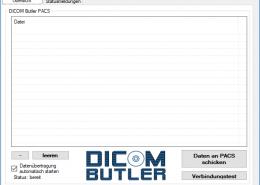 DICOM Butler PACS im Leerlauf